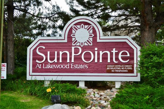 5705 W Atlantic Place #206, Lakewood, CO 80227 (MLS #9222645) :: 8z Real Estate