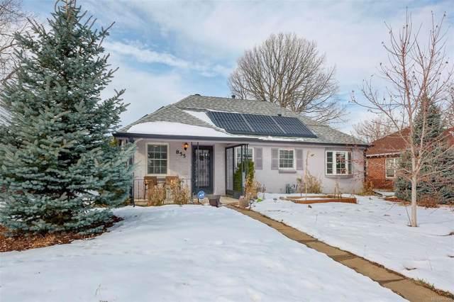 855 S Decatur Street, Denver, CO 80219 (MLS #9226399) :: 8z Real Estate