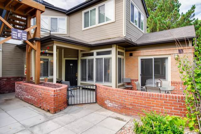 6001 S Yosemite Street E104, Greenwood Village, CO 80111 (#9227068) :: Colorado Home Finder Realty