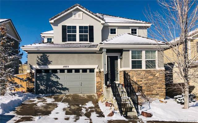 11023 Meadowvale Circle, Highlands Ranch, CO 80130 (#9229409) :: Wisdom Real Estate