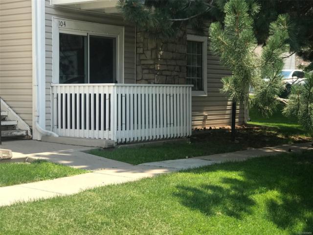 14172 E Colorado Drive #104, Aurora, CO 80012 (#9233295) :: My Home Team