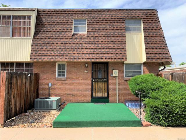 1200 S Monaco Parkway #24, Denver, CO 80224 (MLS #9239321) :: 8z Real Estate