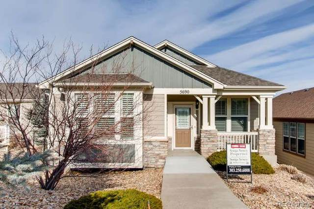 5690 Garnet Street, Golden, CO 80403 (#9245157) :: The Griffith Home Team