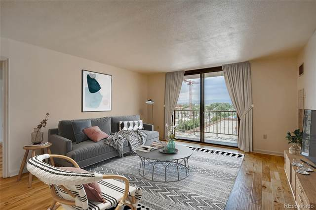 1301 Speer Boulevard #610, Denver, CO 80204 (#9246348) :: The Colorado Foothills Team | Berkshire Hathaway Elevated Living Real Estate
