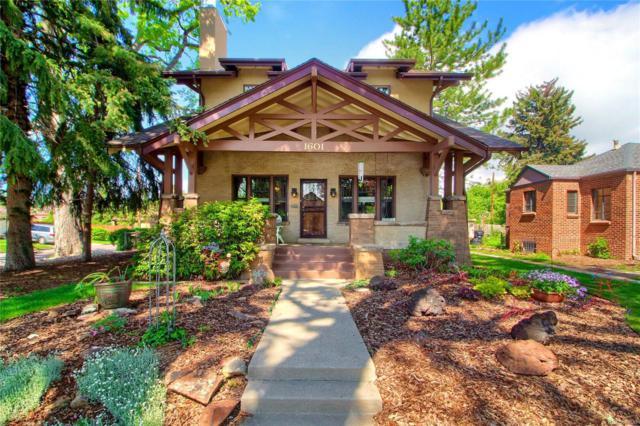 1601 Poplar Street, Denver, CO 80220 (#9251776) :: The Heyl Group at Keller Williams