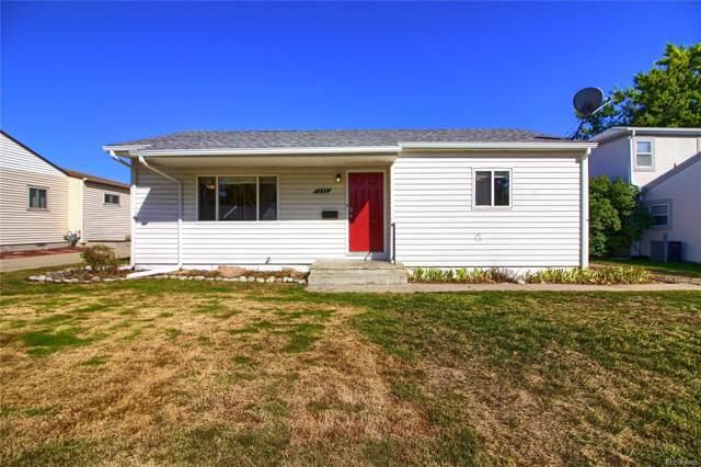 1250 S Yates Street, Denver, CO 80219 (MLS #9253243) :: 8z Real Estate