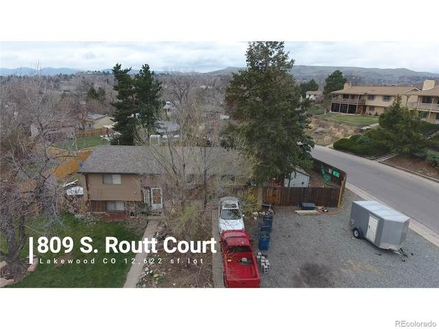 809 S Routt Court, Lakewood, CO 80226 (#9255639) :: The Dixon Group