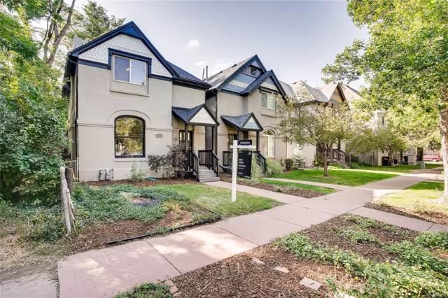 2081 N Ogden Street, Denver, CO 80205 (MLS #9256109) :: 8z Real Estate