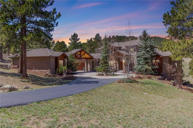 1265 Silver Rock Lane, Evergreen, CO 80439 (#9257896) :: The DeGrood Team
