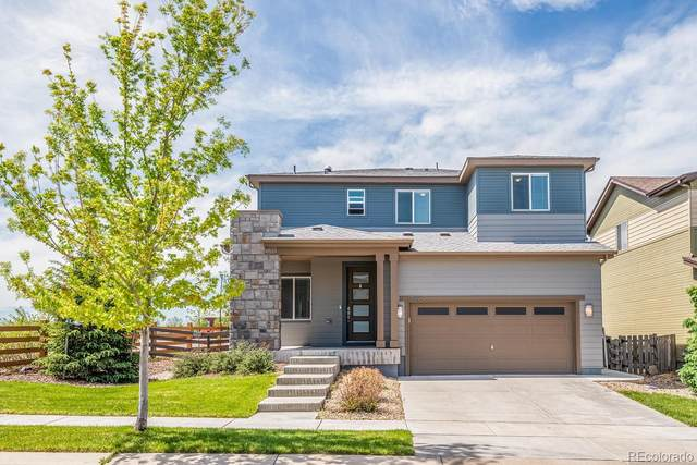 17896 E 107th Way, Commerce City, CO 80022 (#9258573) :: The Heyl Group at Keller Williams
