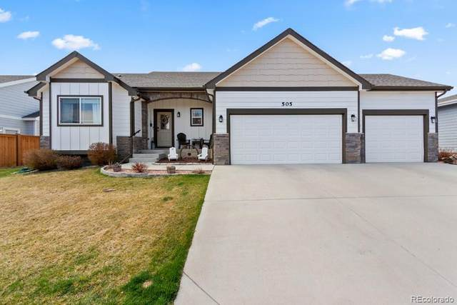505 Prairie Clover Way, Severance, CO 80550 (#9261697) :: Wisdom Real Estate