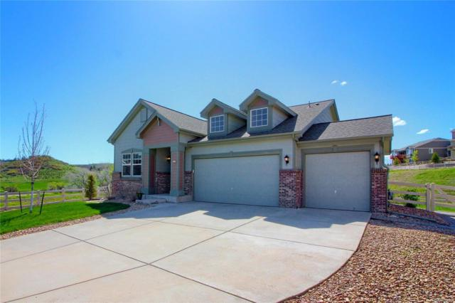 5421 Clearbrooke Court, Castle Rock, CO 80104 (#9266085) :: The HomeSmiths Team - Keller Williams