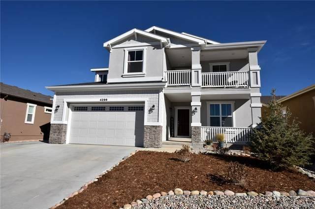 4296 New Santa Fe Trail, Colorado Springs, CO 80924 (MLS #9269662) :: Bliss Realty Group