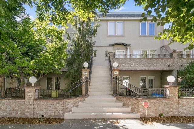 389 N Ogden Street, Denver, CO 80218 (#9270006) :: House Hunters Colorado