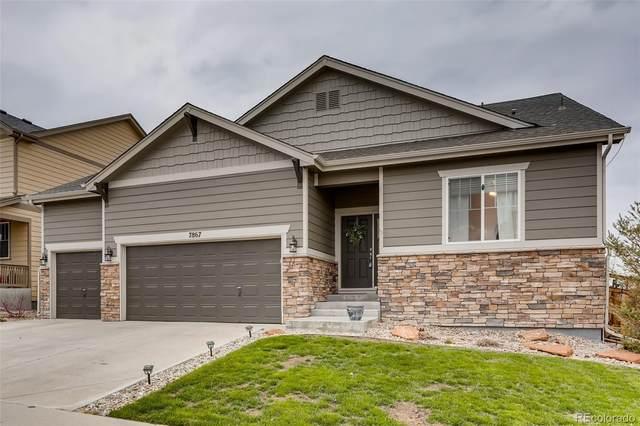 7867 Grady Circle, Castle Rock, CO 80108 (#9270662) :: The Griffith Home Team