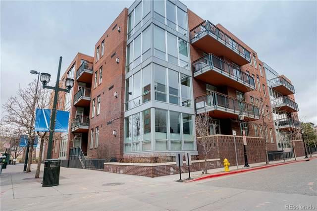 1401 Delgany Street #302, Denver, CO 80202 (#9271456) :: The Gilbert Group