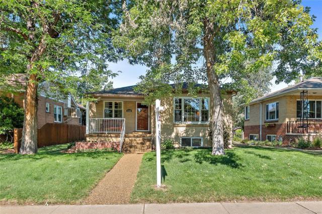 2155 S Washington Street, Denver, CO 80210 (#9273314) :: The Pete Cook Home Group