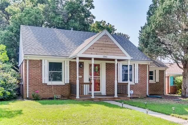 1361 Syracuse Street, Denver, CO 80220 (#9275350) :: Kimberly Austin Properties
