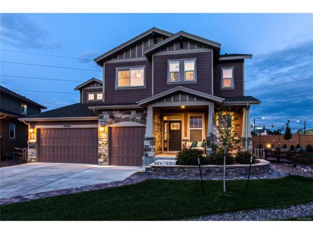 20602 Northern Pine Avenue, Parker, CO 80134 (#9279962) :: The Dixon Group