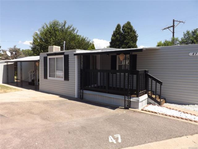 3500 S King Street #47, Denver, CO 80236 (#9283372) :: Structure CO Group
