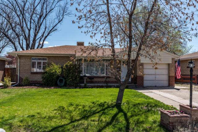1460 S Fenton Street, Lakewood, CO 80232 (#9284234) :: The DeGrood Team