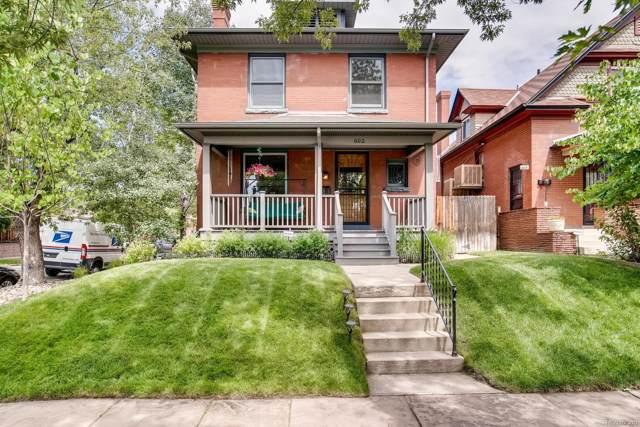 602 S Sherman Street, Denver, CO 80209 (MLS #9284239) :: 8z Real Estate
