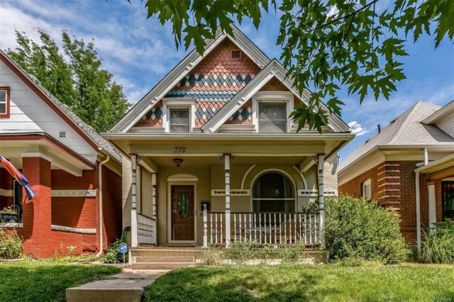 772 S Grant Street, Denver, CO 80209 (#9289204) :: The Pete Cook Home Group