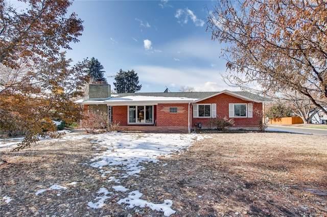 1601 S Glencoe Street, Denver, CO 80222 (MLS #9305443) :: Colorado Real Estate : The Space Agency