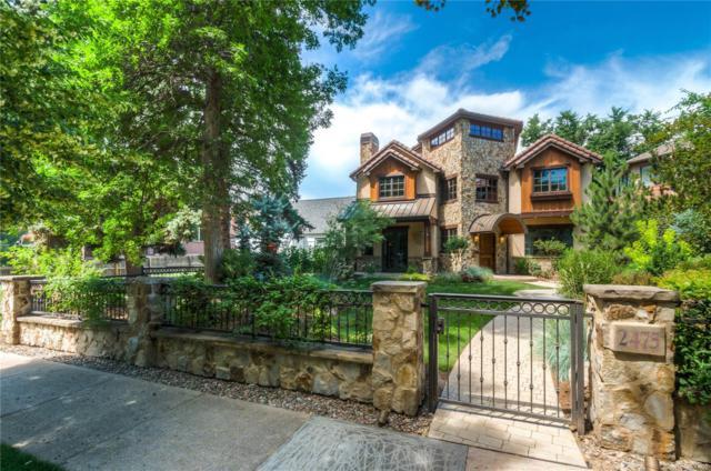 2475 S Columbine Street, Denver, CO 80210 (#9309403) :: Mile High Luxury Real Estate