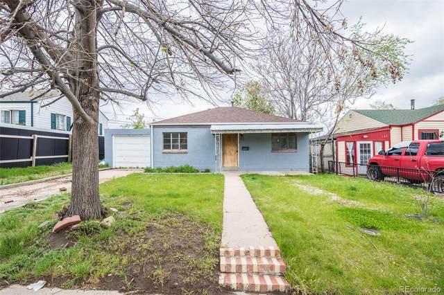 117 S Eliot Street, Denver, CO 80219 (MLS #9309520) :: 8z Real Estate