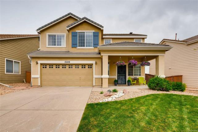 10408 Tracewood Drive, Highlands Ranch, CO 80130 (#9311900) :: The Pete Cook Home Group