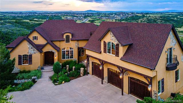 3725 Rocky View Place, Castle Rock, CO 80108 (#9316761) :: The Gilbert Group