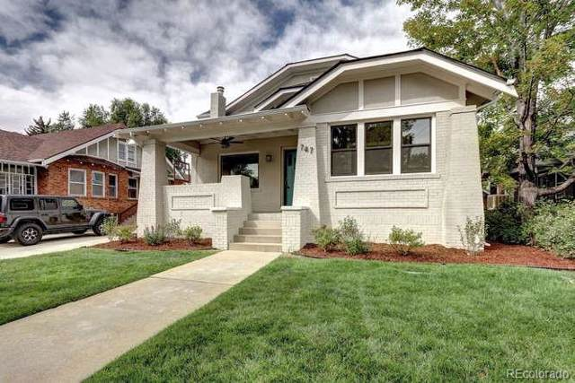 747 Cook Street, Denver, CO 80206 (#9317465) :: The Griffith Home Team