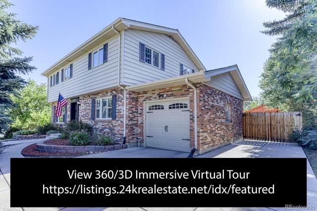 6742 S Kit Carson Circle, Centennial, CO 80122 (#9317806) :: The Gilbert Group