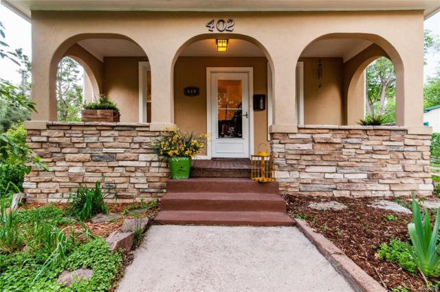402 N Walnut Street, Colorado Springs, CO 80905 (#9318010) :: 5281 Exclusive Homes Realty