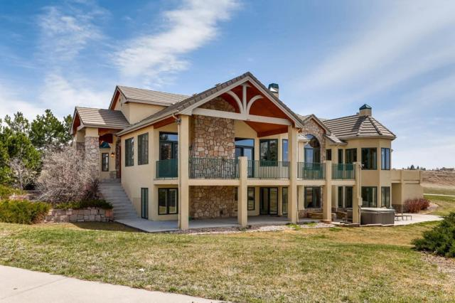 7410 Centennial Drive, Parker, CO 80138 (#9330932) :: The Pete Cook Home Group
