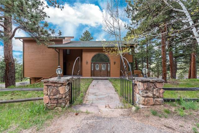 2551 Pinehurst Drive, Evergreen, CO 80439 (#9334486) :: The HomeSmiths Team - Keller Williams