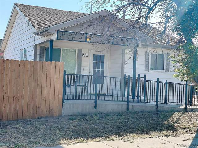 215 Mill Street, Colorado Springs, CO 80903 (#9336687) :: The Harling Team @ Homesmart Realty Group
