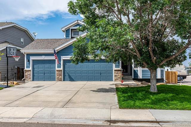 6327 Old Divide Trail, Parker, CO 80134 (#9342703) :: James Crocker Team