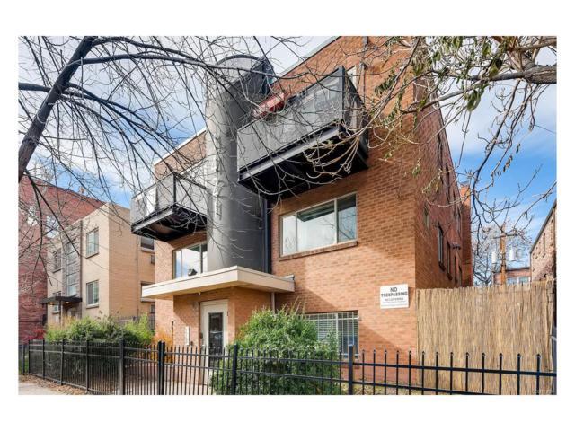 1421 Pearl Street #7, Denver, CO 80203 (MLS #9348663) :: 8z Real Estate