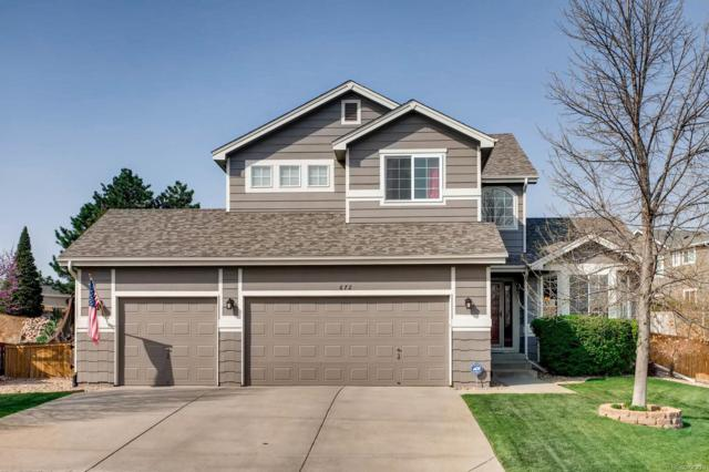 672 Blue Heron Way, Highlands Ranch, CO 80129 (#9351848) :: Wisdom Real Estate