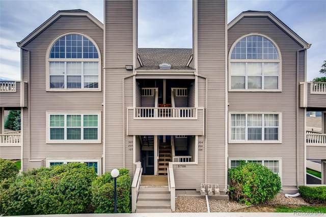 5706 W Asbury Place #104, Lakewood, CO 80227 (#9356296) :: The HomeSmiths Team - Keller Williams