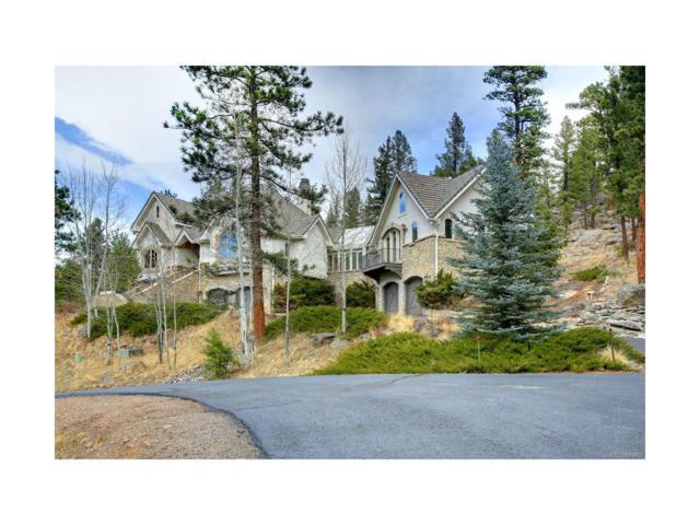 4158 Wild Flower Court, Evergreen, CO 80439 (MLS #9358165) :: 8z Real Estate