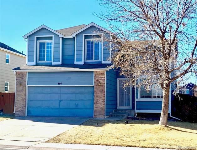 407 Benton Street, Castle Rock, CO 80104 (#9369550) :: Stephanie Fryncko | Keller Williams Integrity