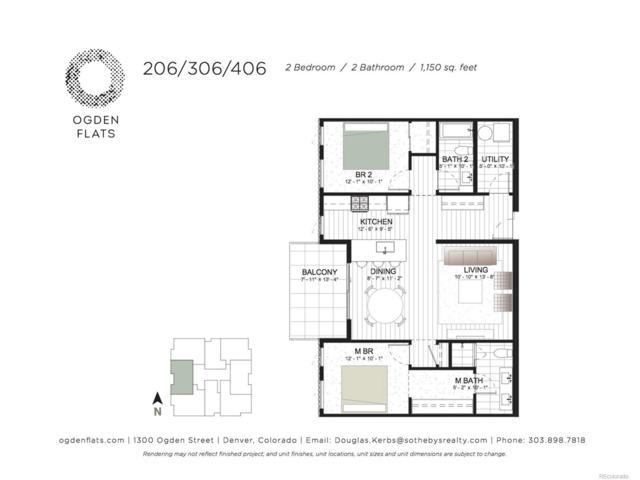 1300 N Ogden Street #406, Denver, CO 80218 (#9369568) :: The Peak Properties Group