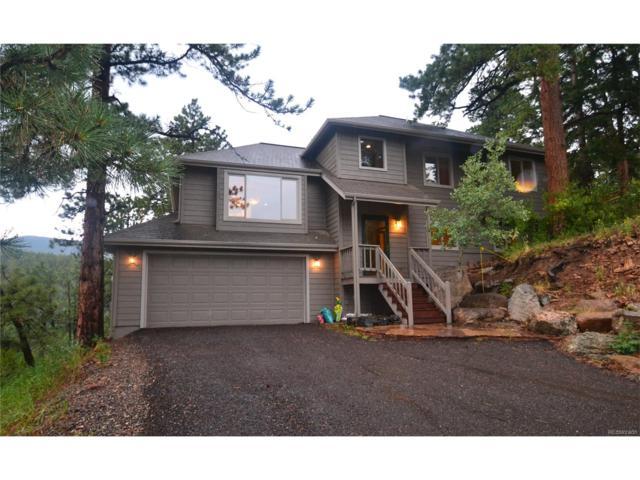 32787 Little Cub Road, Evergreen, CO 80439 (MLS #9371293) :: 8z Real Estate