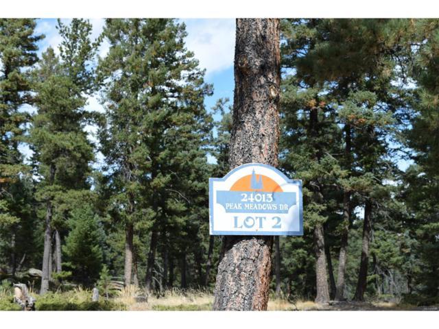 24013 Peak Drive, Conifer, CO 80433 (MLS #9375318) :: 8z Real Estate