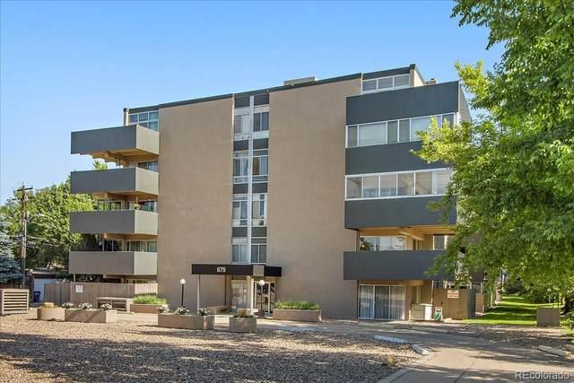 675 S University Boulevard #306, Denver, CO 80209 (#9379603) :: The Griffith Home Team