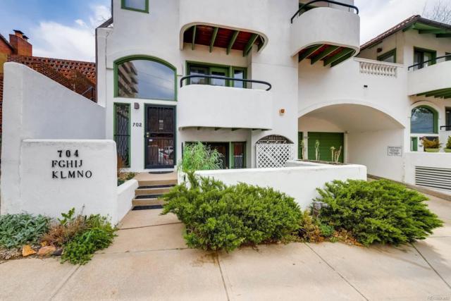 702 Pearl Street #101, Denver, CO 80203 (MLS #9380999) :: 8z Real Estate