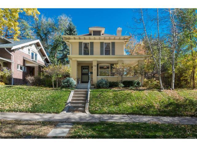 736 Vine Street, Denver, CO 80206 (#9382686) :: House Hunters Colorado